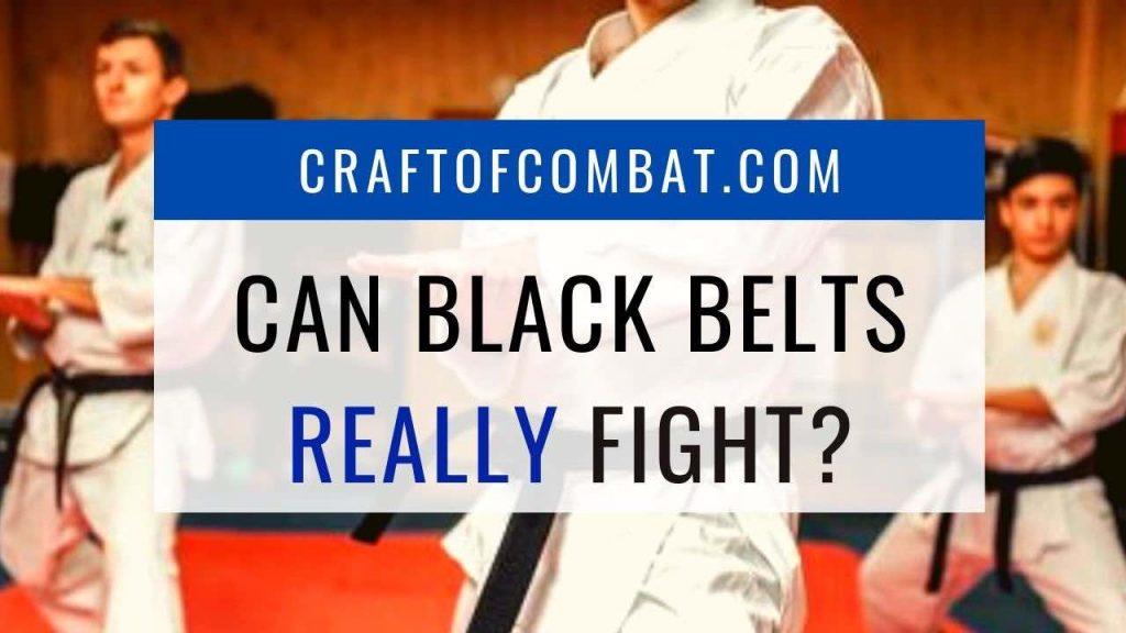 Can Black Belts Really Fight? - CraftofCombat.com