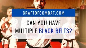 Can You Have Multiple Black Belts? - CraftofCombat.com