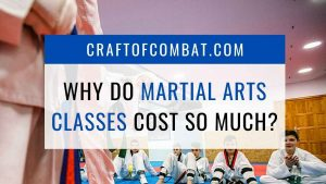 Why do martial arts classes cost so much? - CraftofCombat.com