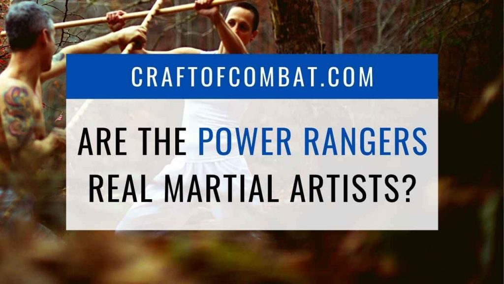 Are the power rangers real martial artists? - CraftofCombat.com