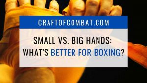 Are small or big hands better for boxing? - CraftofCombat.com